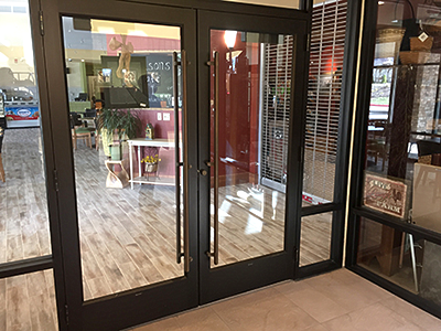 glass storefront doors american door company largo florida