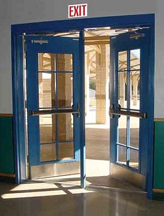 egress & exit doors